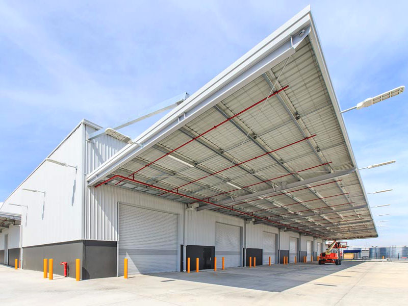 Lamb and Bell plumbing commercial project DHL Airfreight Centre Melbourne